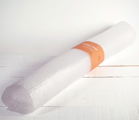 Bubble wrap for packages