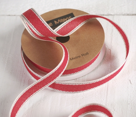 Gift ribbon denim style