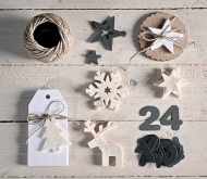 Handmade Advent calendar kit