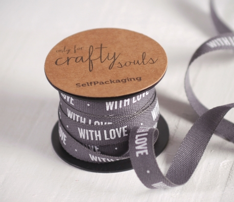 Gift ribbon WITH LOVE
