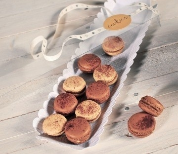 Clear boxes for cookies