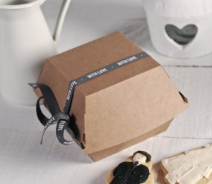 Burgers box with love