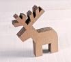 Piccola renna in cartone