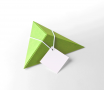 Tiny triangular gift box