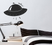 Children's spaceship wall sticker