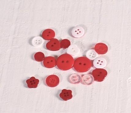 Botones Variados de Plástico