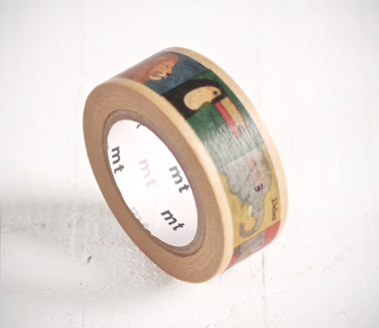 Animal Squares Washi Tape