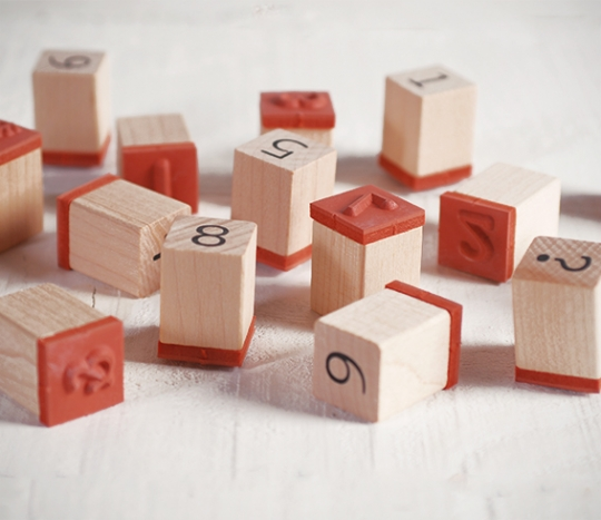 Kit de sellos números