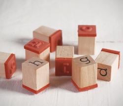 Kit de sellos letras