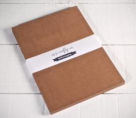 Kraftpapier-Karten A4