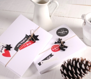 Christmas Box for Photos