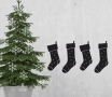 Christmas stocking wall sticker
