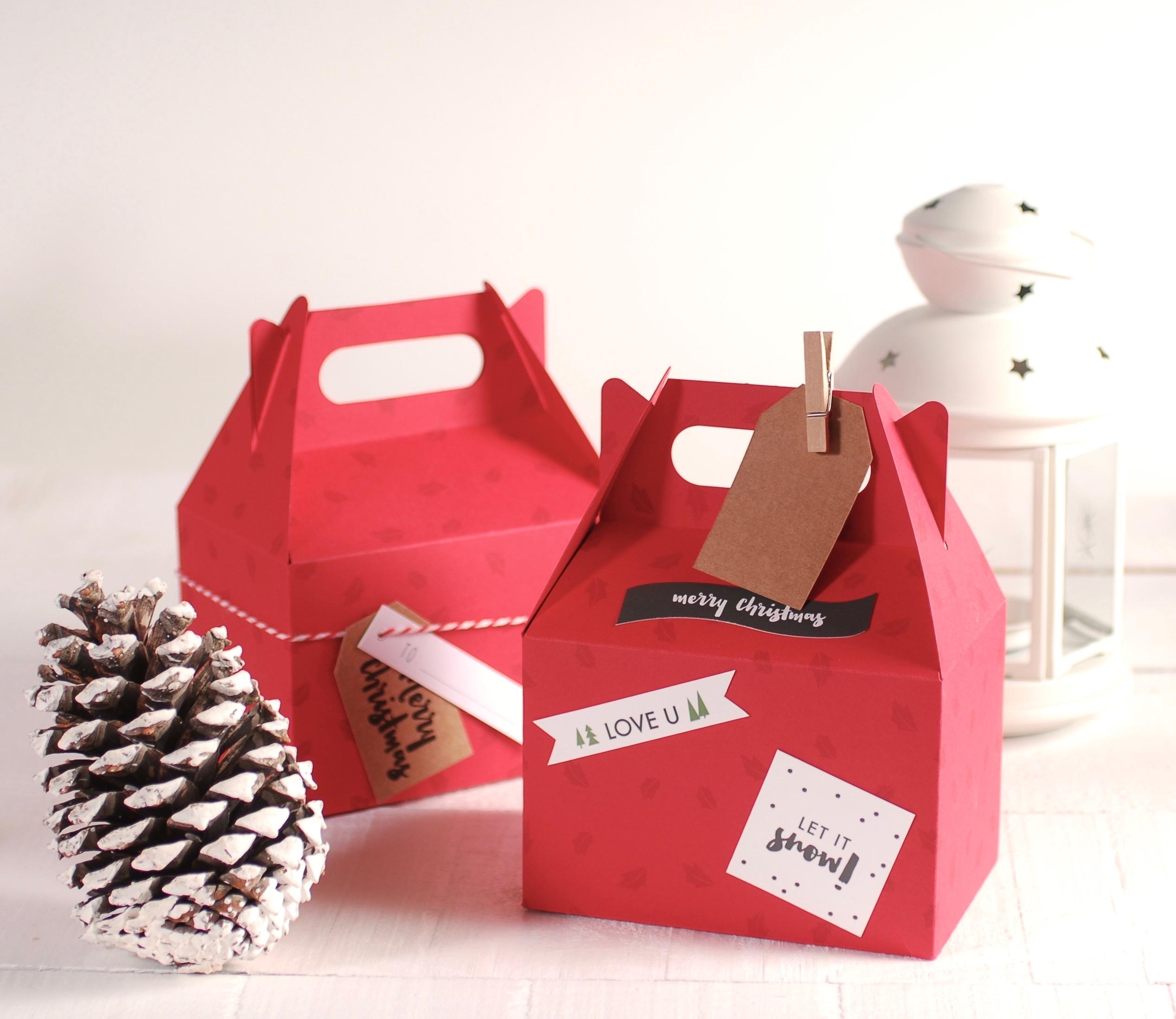 Cajas Regalo Para Navidad Selfpackaging ~ Regalos Originales Para Navidad Manualidades