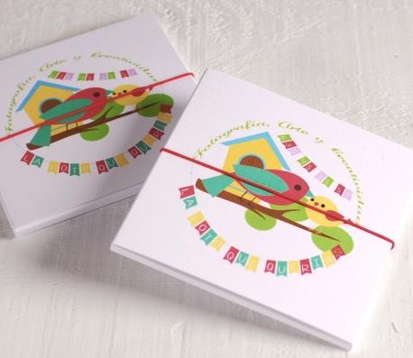 Caja regalo para CD infantil