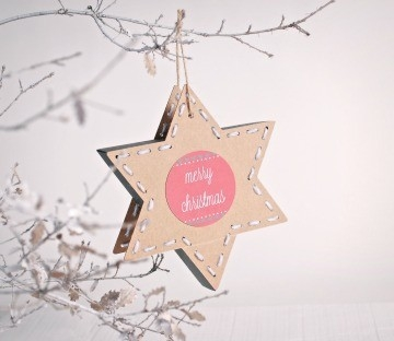 Star-shaped gift boxes