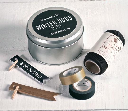 Kit de decoración para regalos de Navidad