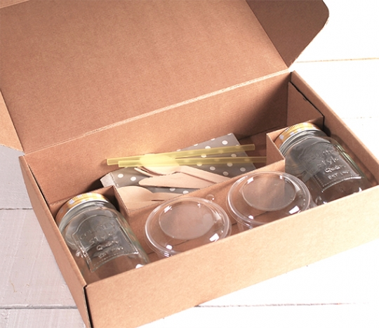 Set scatola per 2 colazioni