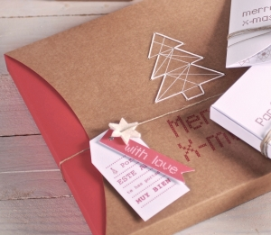 Caja regalo Merry Christmas