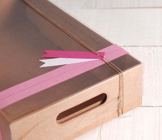 Bandeja de cartón para regalar