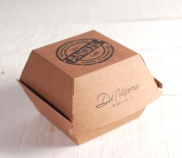 Caja para hamburguesas personalizada