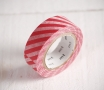 Wide striped washi tape