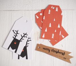 Kit di etichette Rudolph