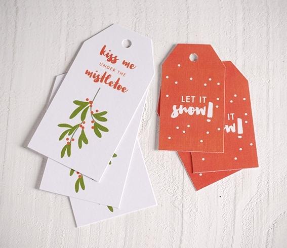 Christmas Gift Tag.Set Of Christmas Gift Tags