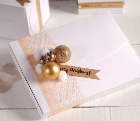 Caja para postales o vales regalo