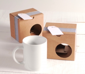 Gift box for cups