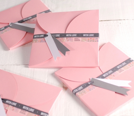 Caja bonita para invitaciones