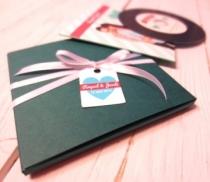Caja regalo para CD