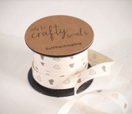 Gift ribbon - hearts