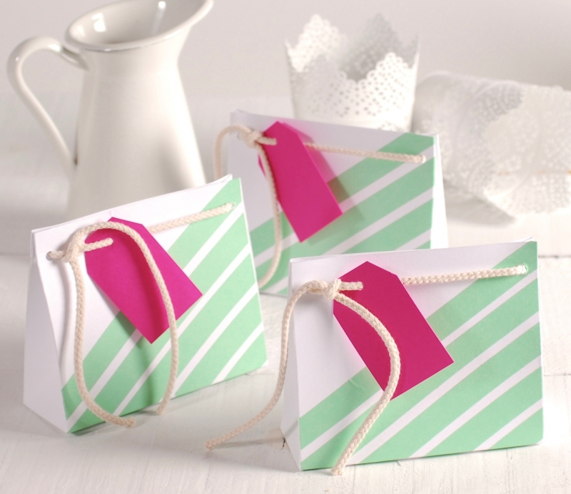 Small gift bag decorated selfpackaging small gift bag decorated negle Gallery