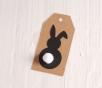 Etichette con coniglietti