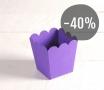 Caja para palomitas color lila
