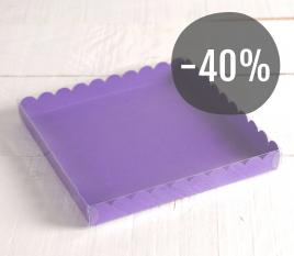 Cajita para dulces color violeta