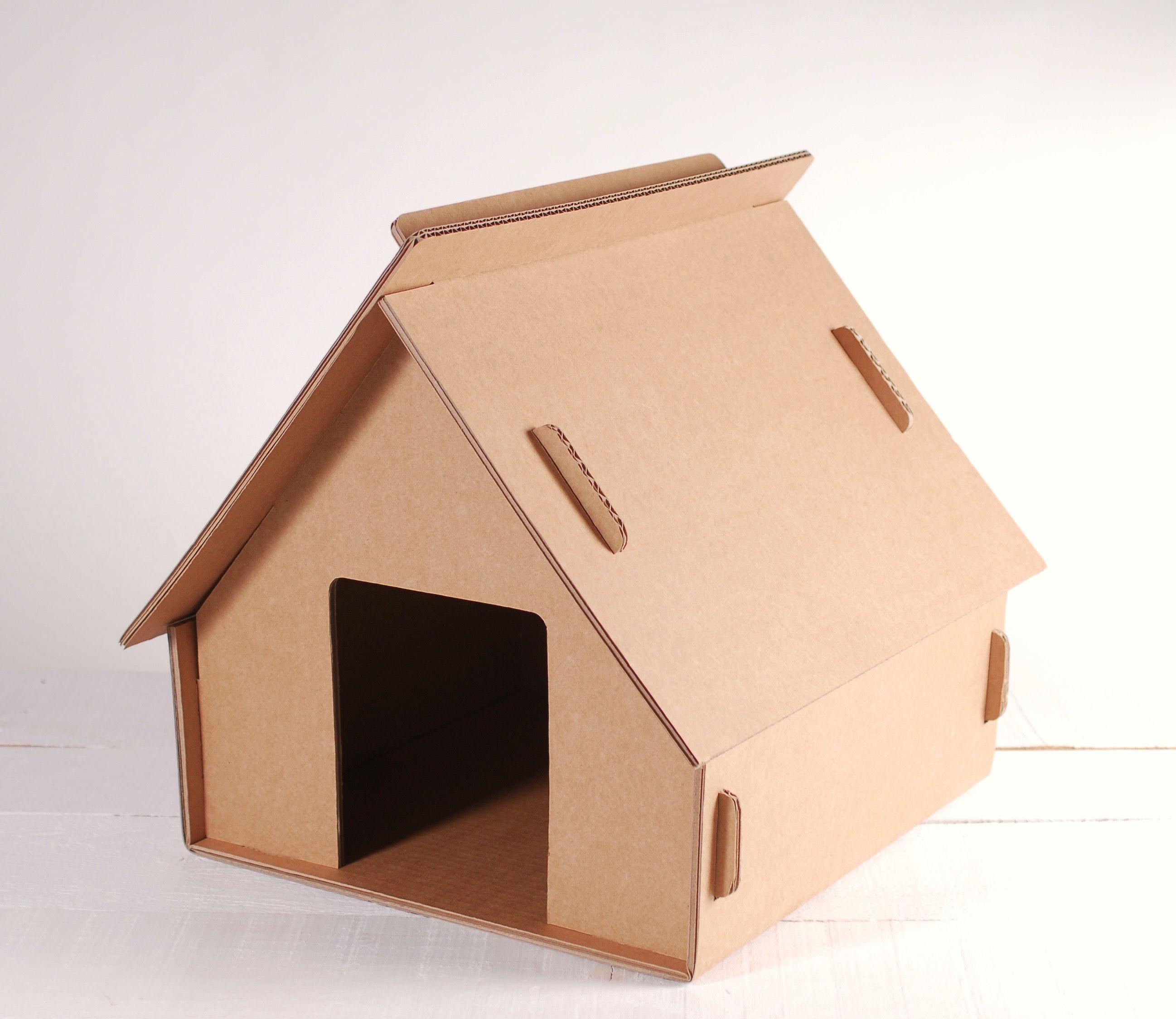 Figuras De Cart N Hechas 100 Con Cart N Reciclado Selfpackaging ~ Cajas De Carton Decorativas Grandes