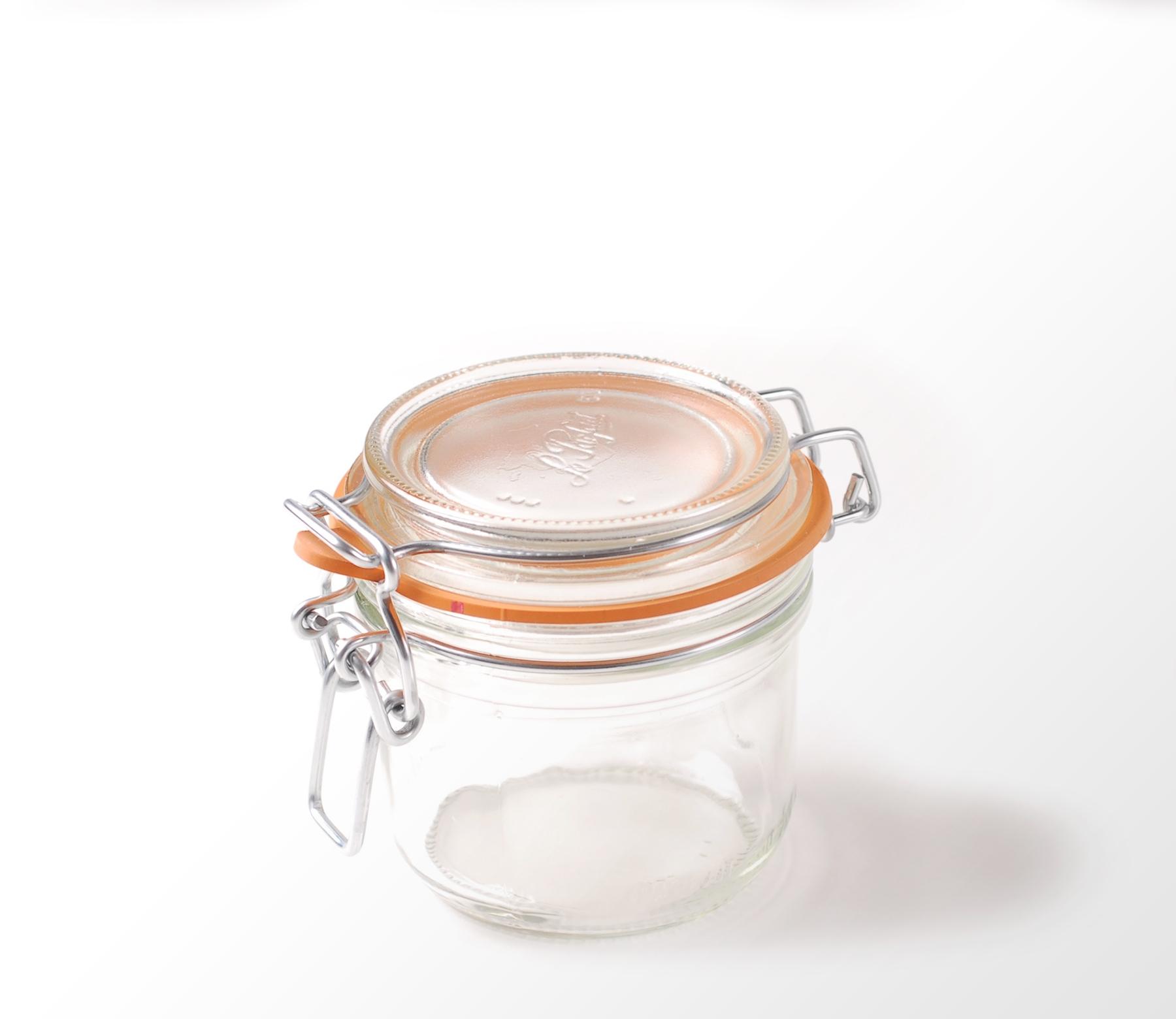 Tarros de vidrio tarro de vidrio con tapa decoracin con - Tarro cristal con tapa ...