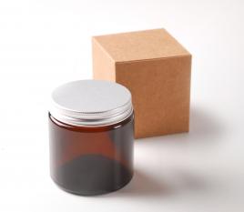 Glasbehälter für Pomaden und Cremes