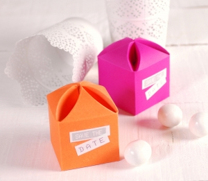 Decorated Box with a Flower Opening