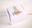 Scatole regalo stampate Ananas