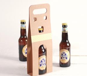 Caja para cerveza decorada