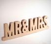 Mr & Mrs di cartone