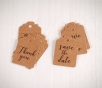 Decorative labels for weddings