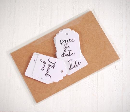 Etiquetas para detalles de boda