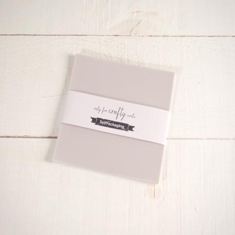 Cartulinas Vegetales Extra White 16,5x 16,5cm