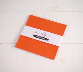 Cartoncini Arancioni 16,5x 16,5cm