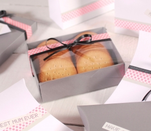 Geschenkverpackung für Kekse