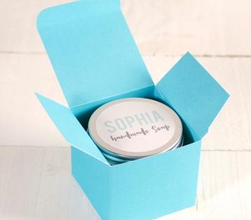 Cajita personalizada para velas aromáticas