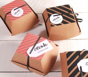 Caja de burgers para regalos